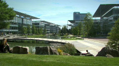 Business park, HD Stock Footage