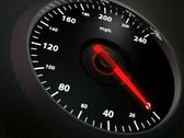 Speedometer closeup, PAL Stock Footage