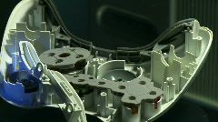 Broken controller Stock Footage