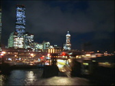 Time-lapse from Seattle's Pier 52  Stock Footage