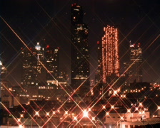 Time-lapse view of Seattle skyscrapers Stock Footage