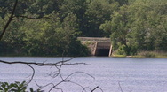 Highway By A Scenic Lake 03 Stock Footage