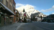 Stock Video Footage of Banff town