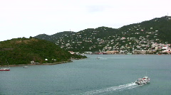 St.Thomas US Virgin Islands Stock Footage