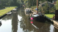Stock Video Footage of Canal in Holland