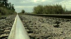 Railway - stock footage