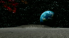 Lunar Landing HD1080 Stock Footage