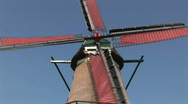 Stock Video Footage of Old dutch windmill
