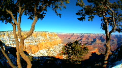 View of Grand Canyon Stock Footage
