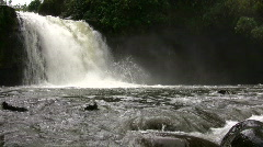 Andean waterfall Stock Footage