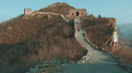 Stock Video Footage of Great Wall of China