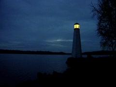VA Lighthouse Stock Footage