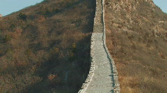 Great Wall of China - stock footage