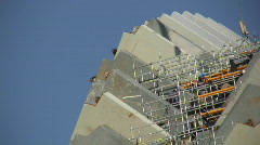 Building Works 4 Stock Footage