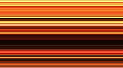 Horizontal golden stripes - digital animation Stock Footage