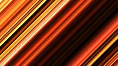 Diagonal golden stripes - digital animation Stock Footage