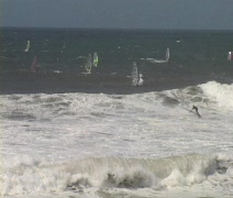Windsurfing 18 Stock Footage