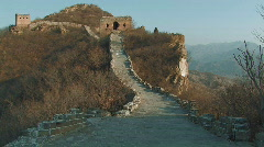 The Great Wall of China - stock footage