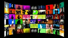Disco Dancing Stock Footage