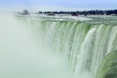 Crest of the Horseshoe Falls (SD) Stock Footage