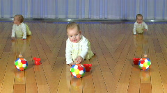 The baby model 27 Stock Footage