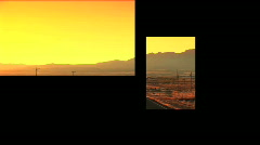Multipanel views of U.S.A. Stock Footage