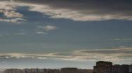 City Sunset timelapse Stock Footage