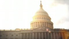 capital building - stock footage