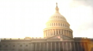 Stock Video Footage of capital building