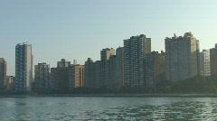 Chicago Skyline Pan - stock footage