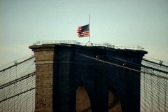 NY Manhattan Bridge America - stock footage