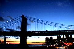 NY Driving Bridge - stock footage