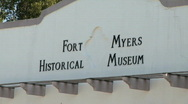 Stock Video Footage of Ft.Myers museum