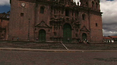Catholic Church Cuzco Stock Footage
