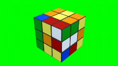 Rubik Cube Stock Footage