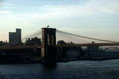NY Manhattan Bridge Wide - stock footage