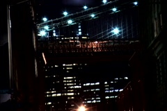 NY Bridge Shutter Lights - stock footage