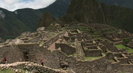 Stock Video Footage of Machu Pichu Pan 02