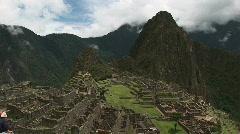 Stock Video Footage of Machu Pichu Static