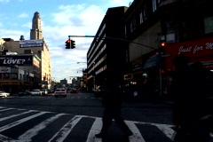 NY People Cross Street - stock footage