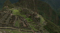 Machu Pichu Tilt Up - stock footage