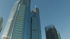 Chaoyang Business District in Beijing - stock footage