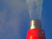 Stock Video Footage of Smoke Stack closeup 3 (NTSC)
