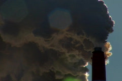 Stock Video Footage of Smoke Stack closeup 1 (NTSC)