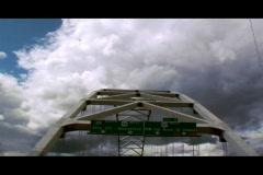 Bridge - stock footage