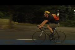 Fast Biker - stock footage