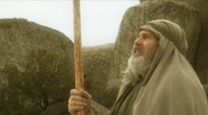 Bible Prophet Close Up Stock Footage