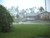 Stock Video Footage of Residential Hurricane