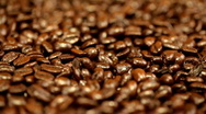 Stock Video Footage of Pouring coffee beans