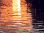 Water Sunset Stock Footage